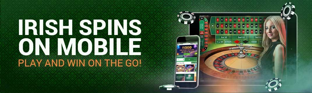 Irish Spins on mobile - Play and win on the go!